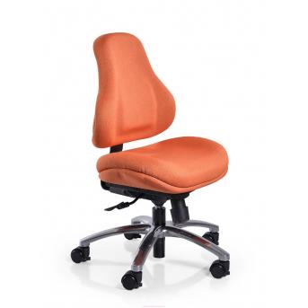 Кресло Mealux Palermo OR (арт.Y-128 OR) обивка оранжевая в точку