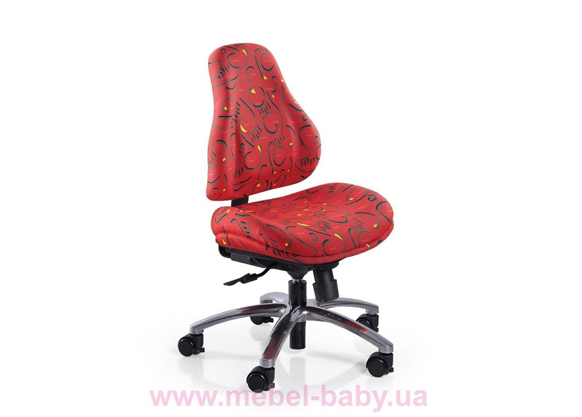 Кресло Mealux Palermo R (арт.Y-128 R) обивка красная с рисунком