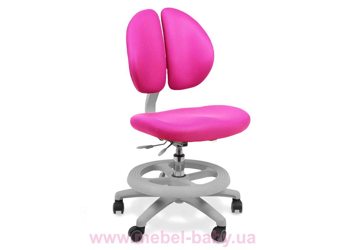 Кресло Mealux Duo Kid KP (арт.Y-616 KP) обивка  розовая однотонная