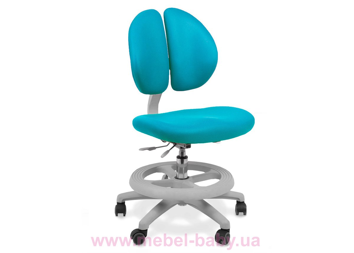 Кресло Mealux Duo Kid KBL (арт.Y-616 KBL) обивка голубая однотонная