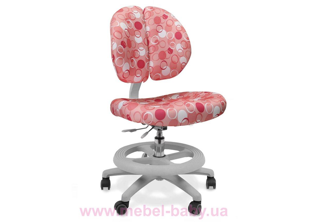 Кресло Mealux Duo Kid P (арт.Y-616 P) обивка розовая с шариками