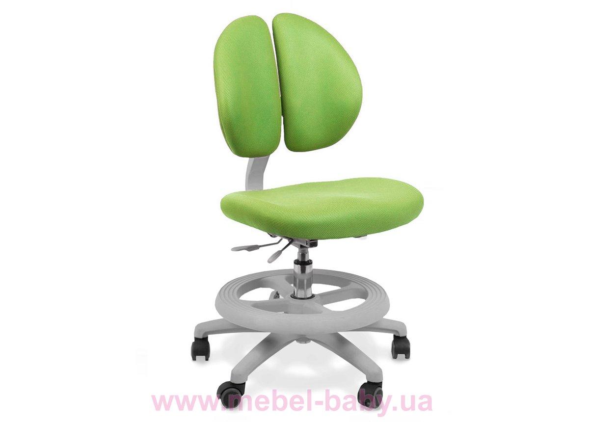 Кресло Mealux Duo Kid KZ (арт.Y-616 KZ) обивка зеленая однотонная