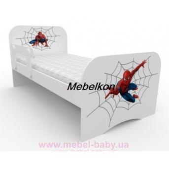 Кроватка стандарт 80x170 Спайдермен