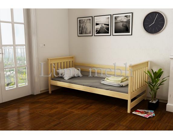 Кровать-диванчик Адель (масcив) Луна 80x160