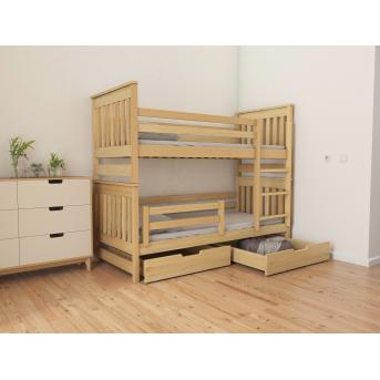Кровать двухъярусная-трансформер Адель Duo (масcив) Луна 80x160