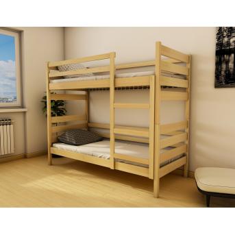 Кровать двухъярусная-трансформер Амели (масcив) Луна 80x160
