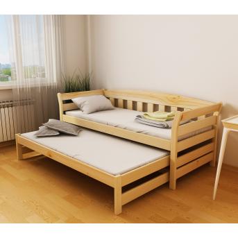 Кровать-диванчик Тедди Дуо с доп. спальным местом (масcив) Луна 80x190