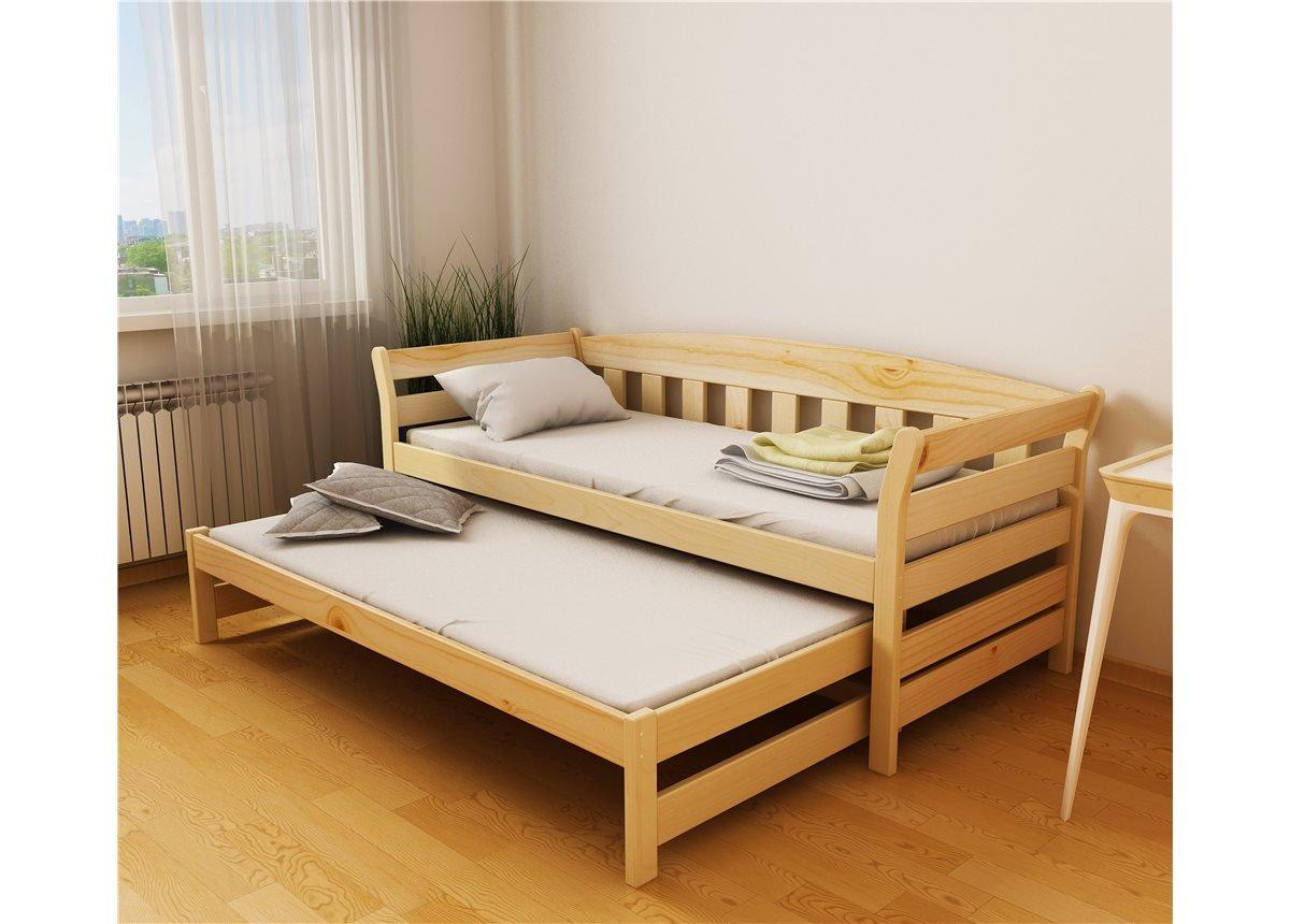 Кровать-диванчик Тедди Дуо с доп. спальным местом (щит) Луна 80x190