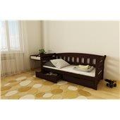 Кровать-диванчик Тедди 1-спальная (масив) Луна 80x190