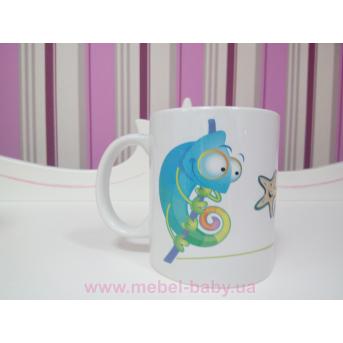 Фирменная чашка от ТМ Meblik