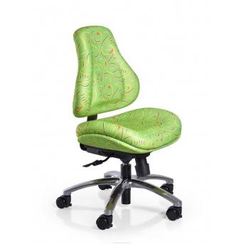 Кресло Mealux Palermo Z (арт.Y-128 Z) обивка зеленая с рисунком