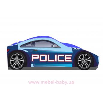 Кровать-машина Полиция Бренд Б-0005 Viorina-Deko