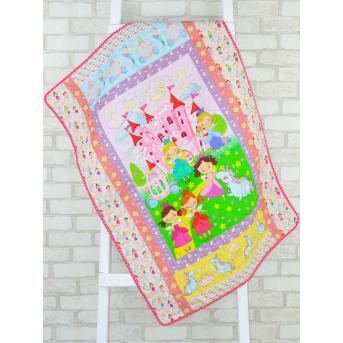 Эко плед-одеяло с конопляным наполнителем «Принцессы»