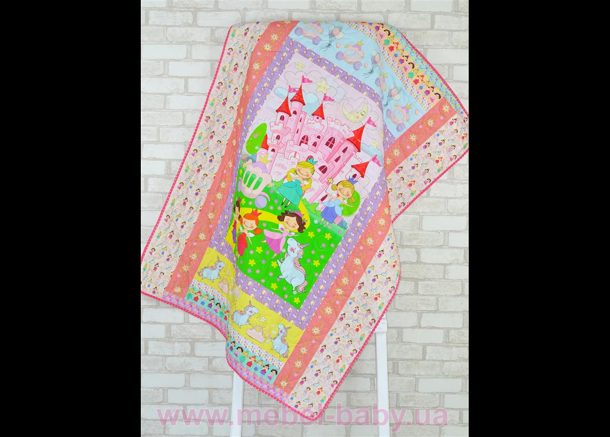 Эко покрывало-одеяло с конопляным наполнителем «Принцессы»