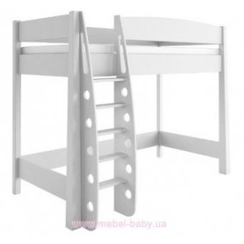 99_Кровать-чердак Bianco Fiori