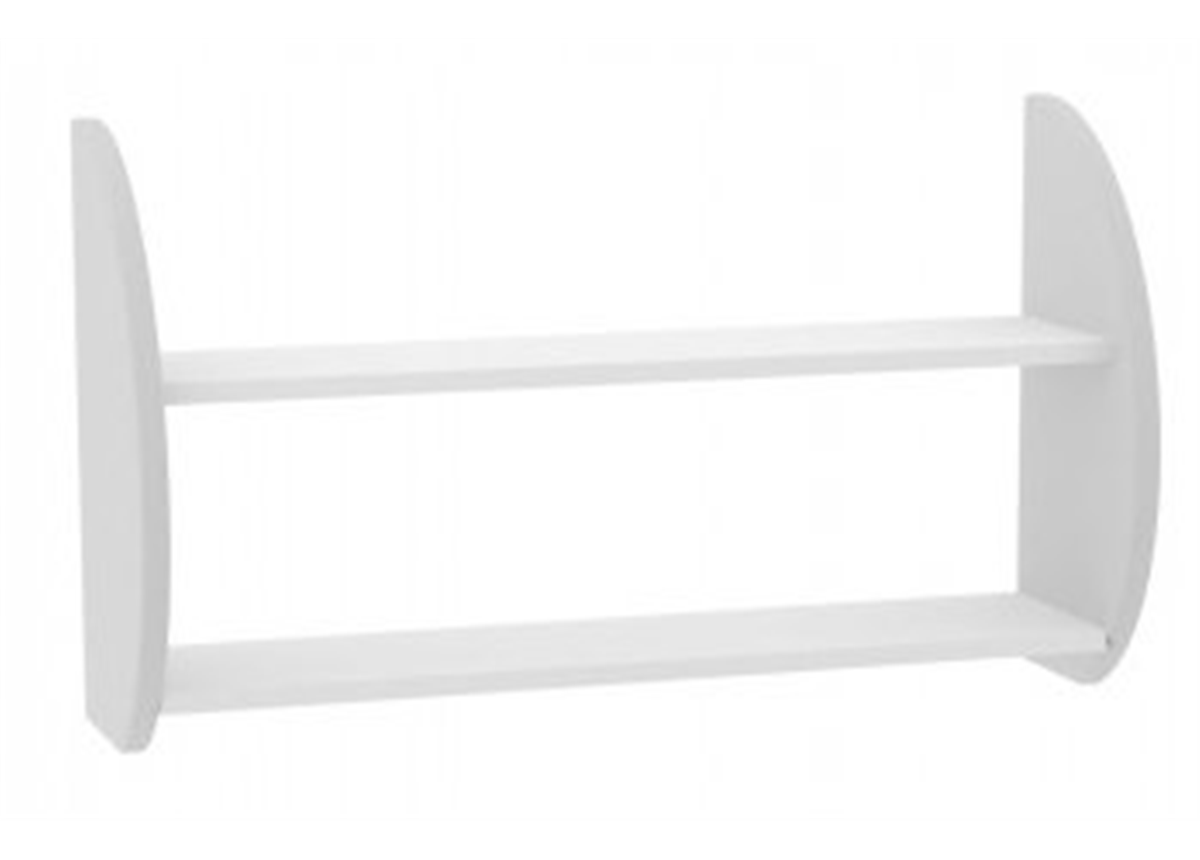15_Полка двойная Bianco Fiori