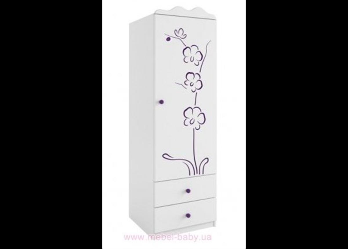 94_Шкаф 60 правый Orhidea violet