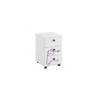 46_Тумбочка-контейнер Orchidea violet