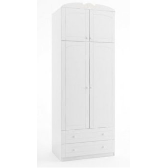 148 Надстройка шкафа 90 Bianco Fiori