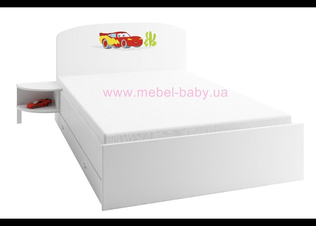 174 Кровать 190х120 Meblik Тачки