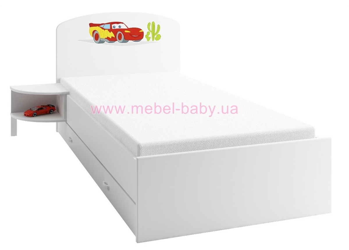 173 Кровать 190х90 Meblik Тачки
