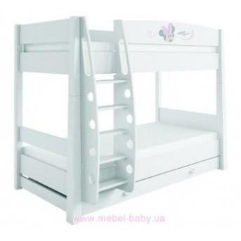 180_2-х ярусная кровать Minnie mouse