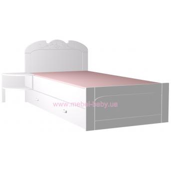 179_Кровать 120х200 Meblik Bianco Fiori