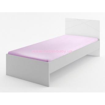 263_Кровать 90х200 X White