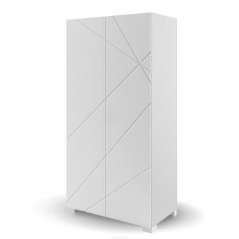 244_Шкаф 100 X White