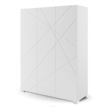 246_Шкаф 150 X White