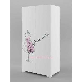 244_Шкаф 100 Fashion Pink