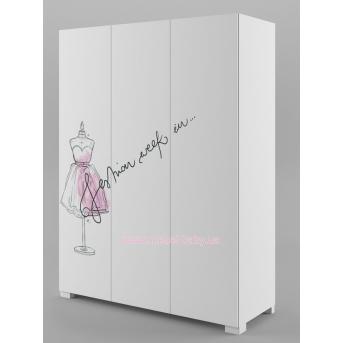 246_Шкаф 150 Fashion Pink