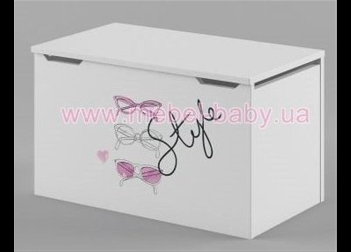 270_Ящик для игрушек Fashion Pink