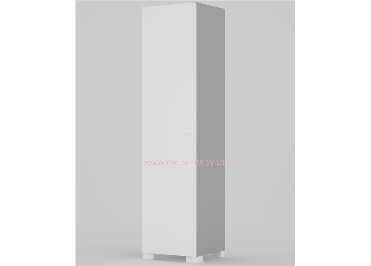 243_Шкаф 50 левый Uni Grey/Uni Fresh