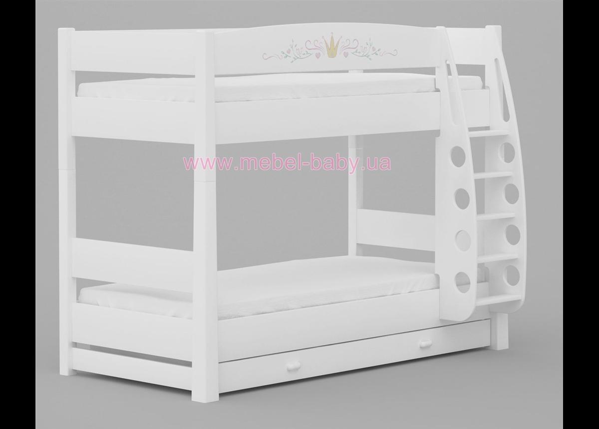 180_2-х ярусная кровать Magic Princess