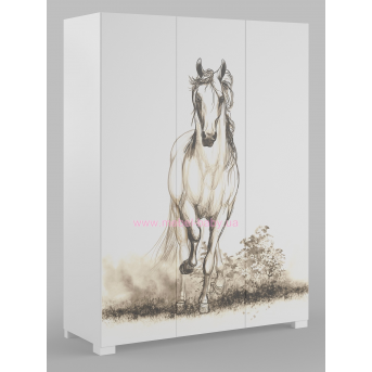 246_Шкаф 150 White Horse
