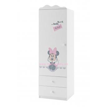 95_Шкаф 60 Левый Minnie Mouse