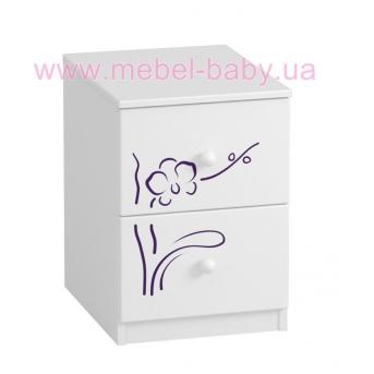 435_Тумбочка BOX Orchidea Violet