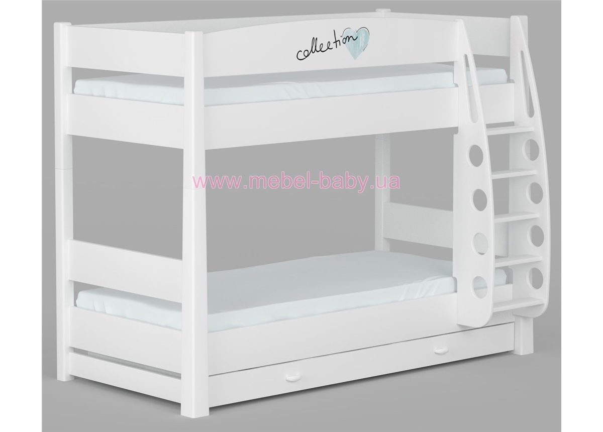 180_Двухъярусная кровать Fashion Mint