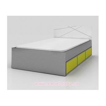 426_Кровать  YO 120х190 X Green