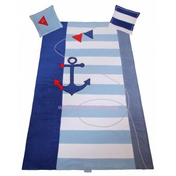906_Покрывало и 2 подушки Серия Pirate