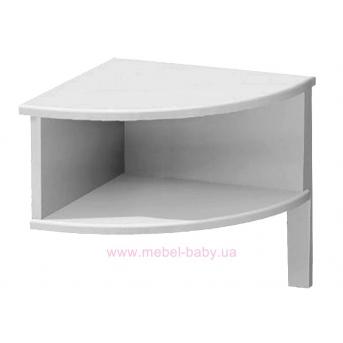 181_Ночной столик белый
