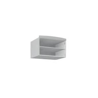 148_Антресоль шкафа 90 Meblik белый