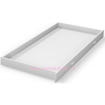 100_Выдвижной ящик к двухярусной кровати Meblik белый