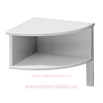 181_Ночной столик Meblik белый