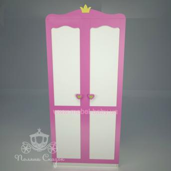 Шкаф двухстворчатый Принцесса