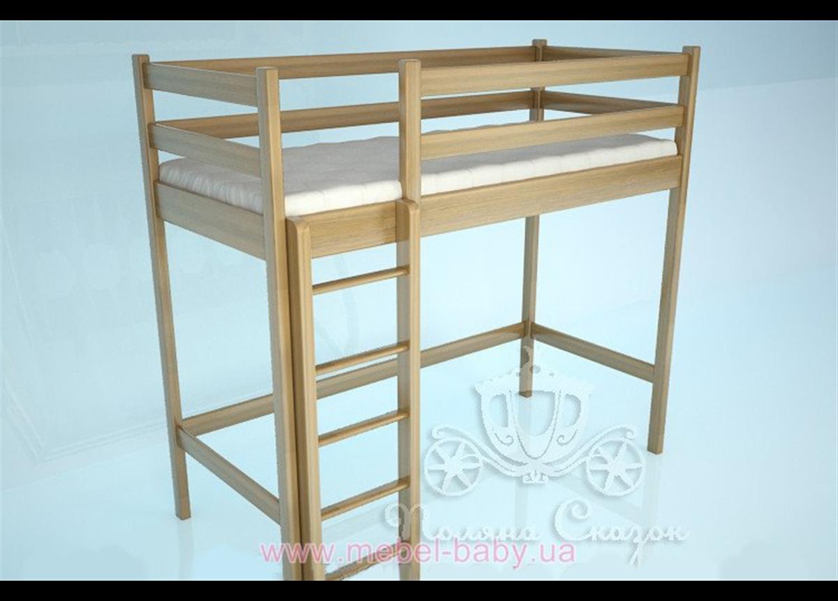 Кровать-чердак 2100 Классик Natural