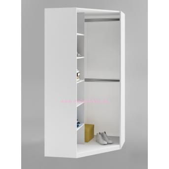 420_Шкаф угловой Bianco Fiori