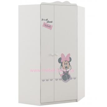 420_Шкаф угловой Minnie mouse