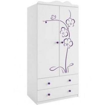 Распродажа 93_Шкаф 90 Orhidea Violet